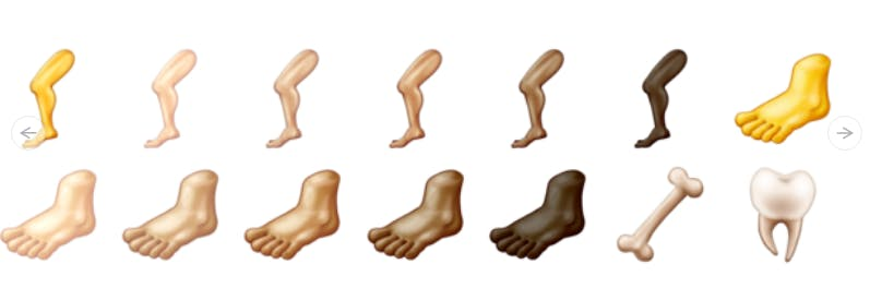 Noge, stopala, kost in zob