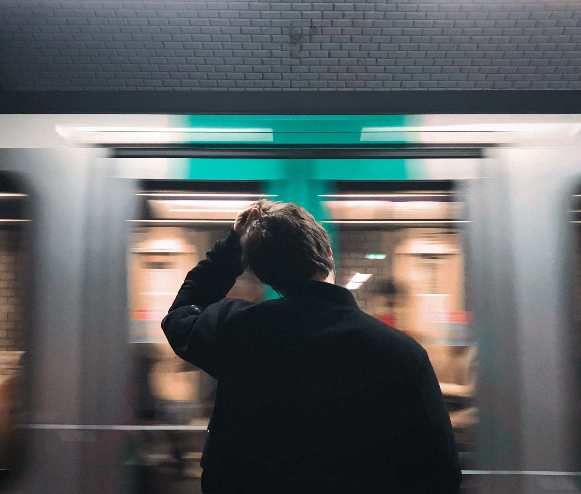 Ali vam je vlak odpeljal izpred oči?