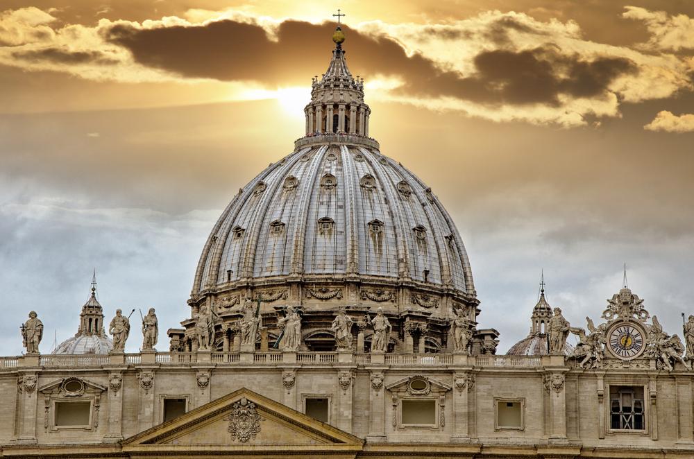 Masivna kupola je krona bazilike Sv. Petra.