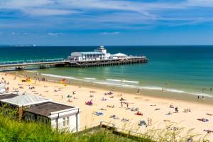 14. Bournemouth Beach, Velika Britanija