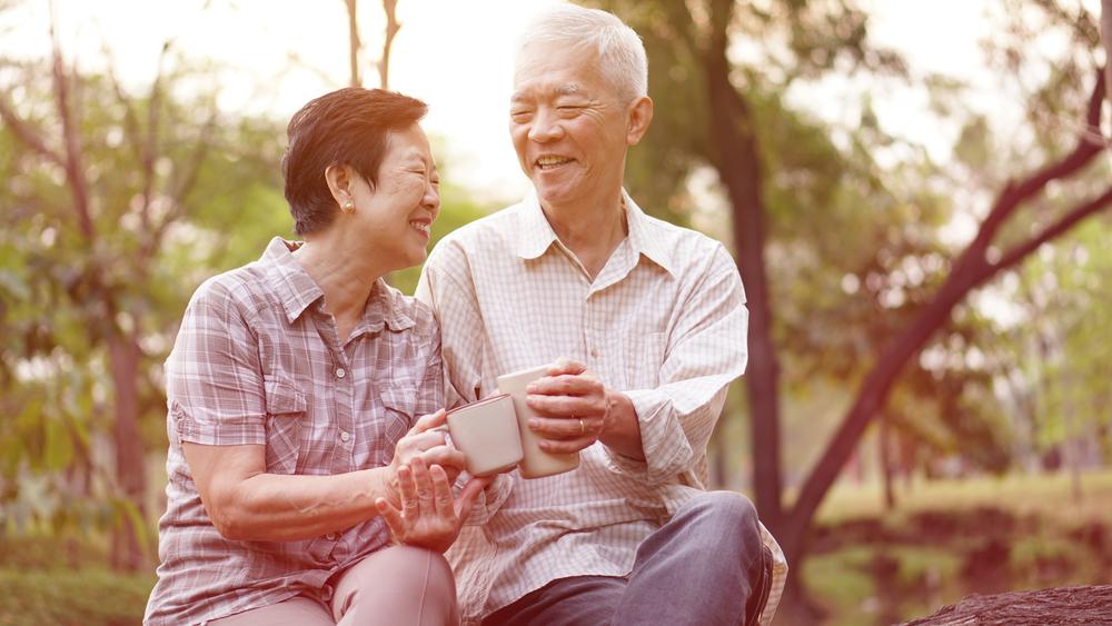 Japonci ostajajo vitki tudi v starejših letih.