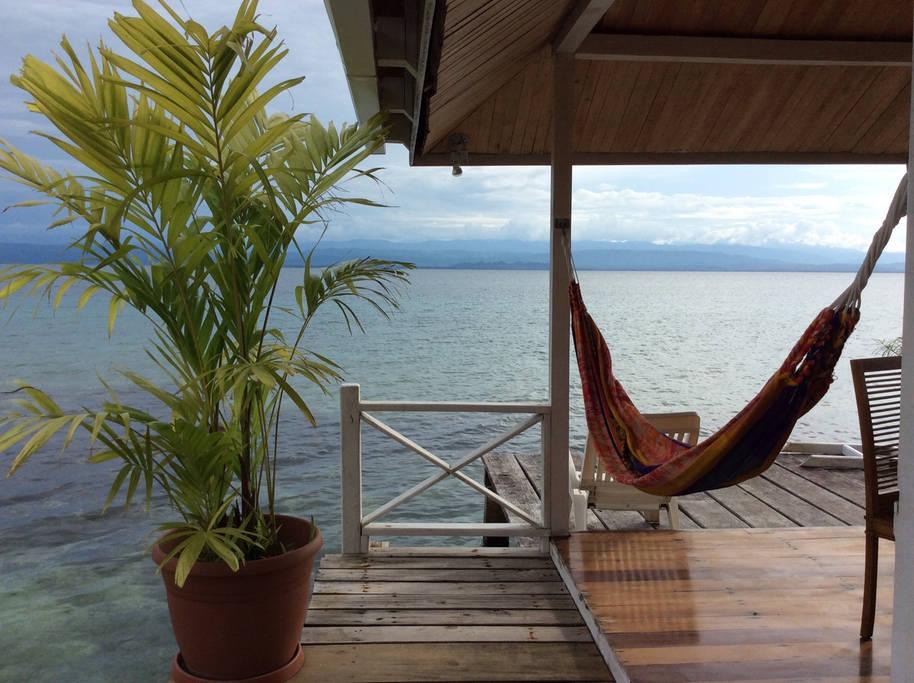 Hiške nad vodo v Panami