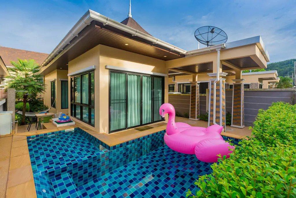 Še ena simpatična vila na Tajskem