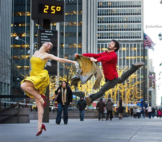 Dancers among us.