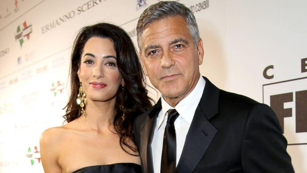 Georgea Clooneyja in Amal Alamuddin loči 17 let.