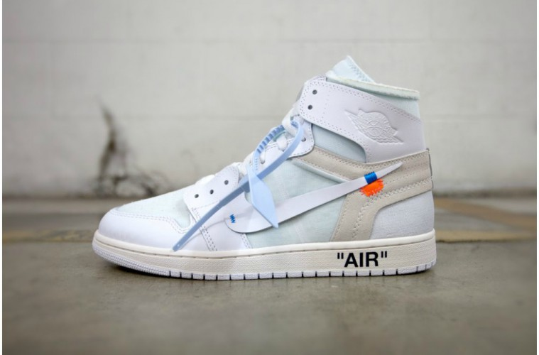 Virgil Abloh x Nike Air Jordan 1 »White« GS
