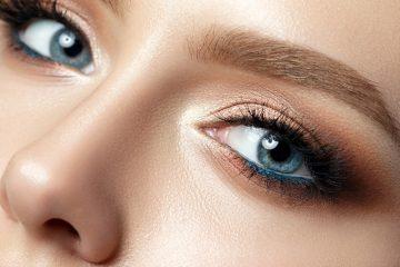 Modre oči