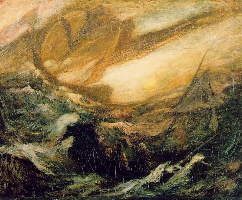 Leteči Holandec, avtor Albert Pinkham Ryder