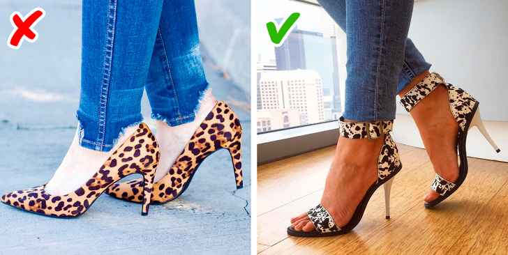 Leopard motiv.