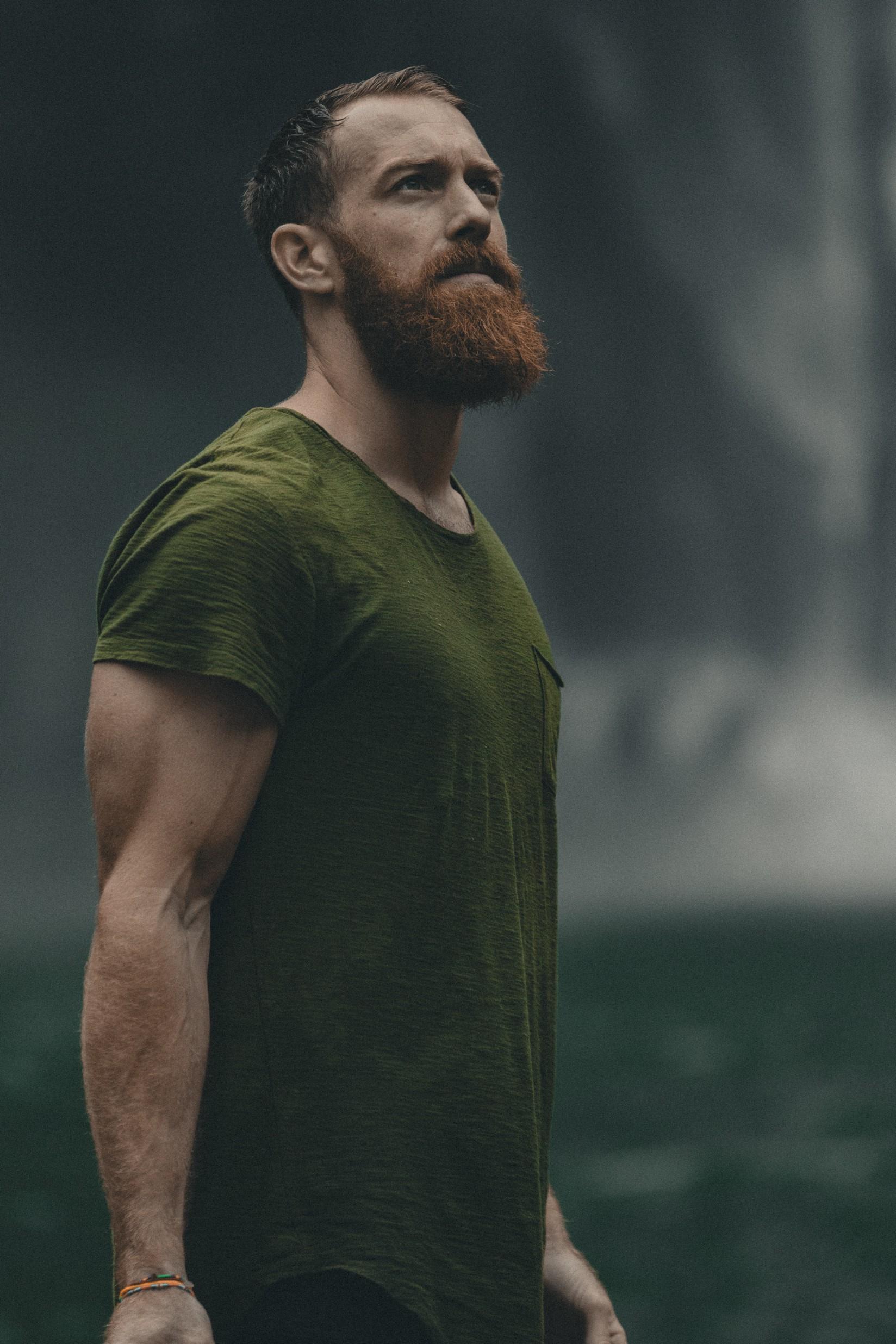 Rdečkasto rjava barva brade vsekakor ni napačna.