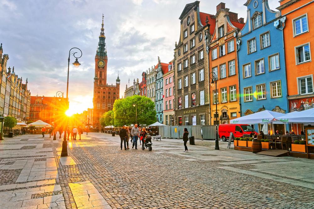 Gdansk, Poljska