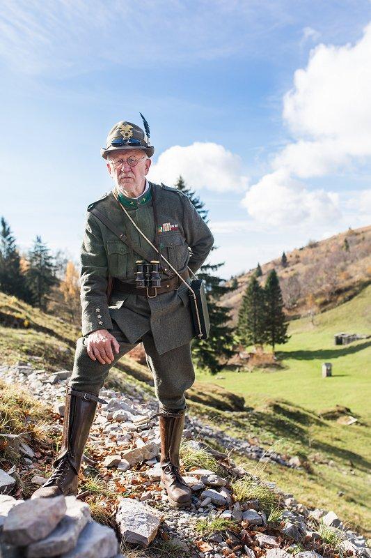 Pripoved vojaka s Soške fronte, Kobarid