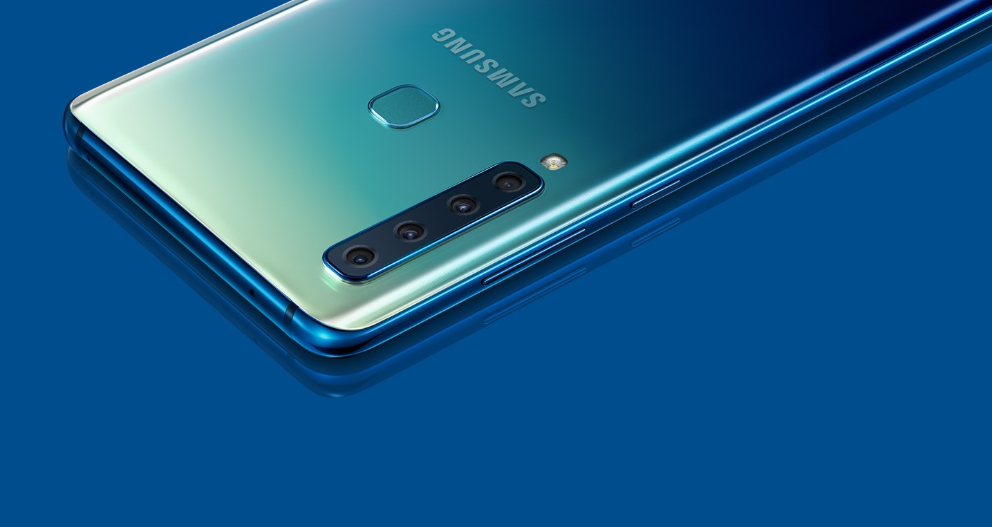 Samsung Galaxy A9 ima kar štiri kamere.