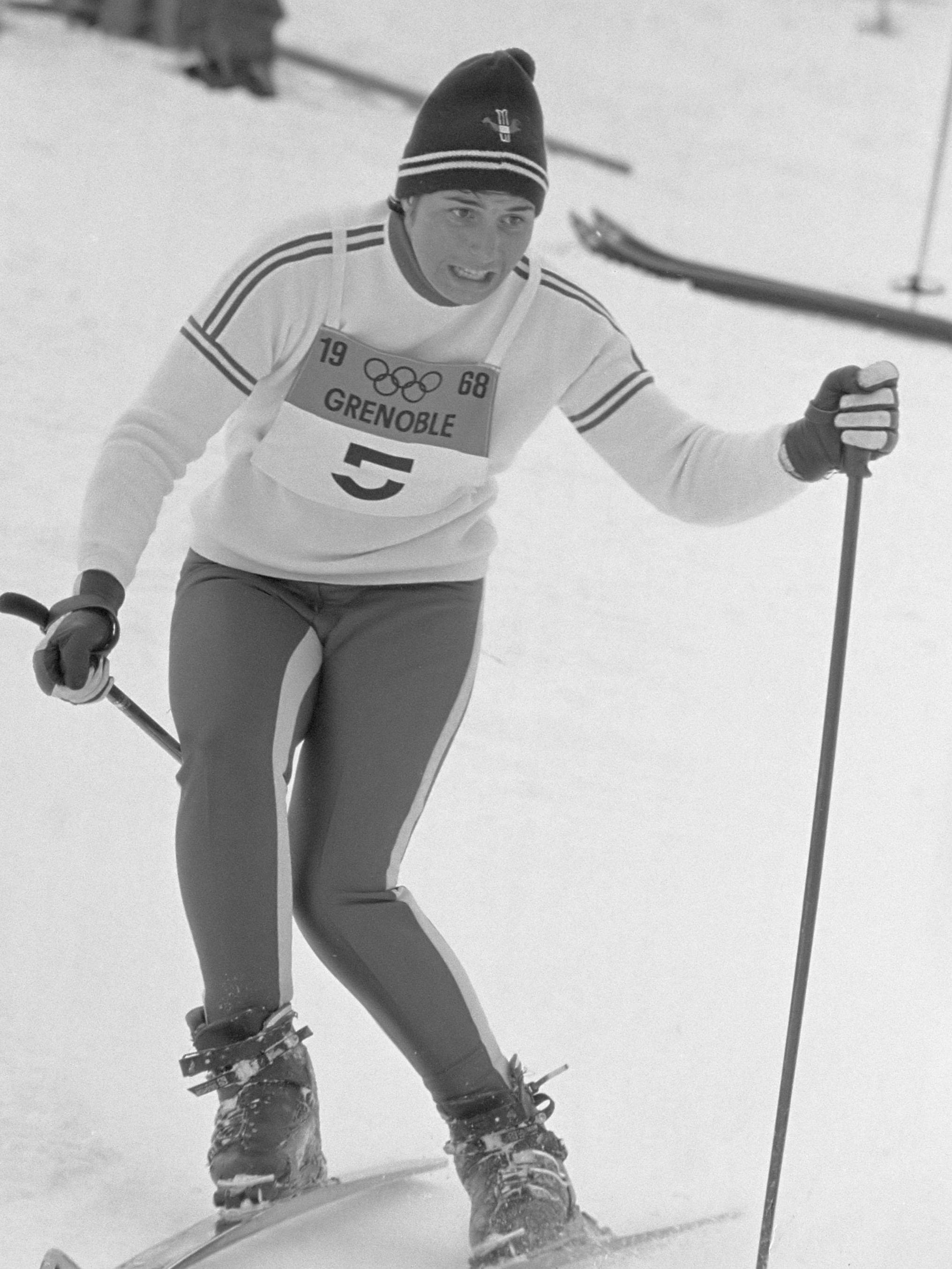 Marielle Goitschel leta 1968