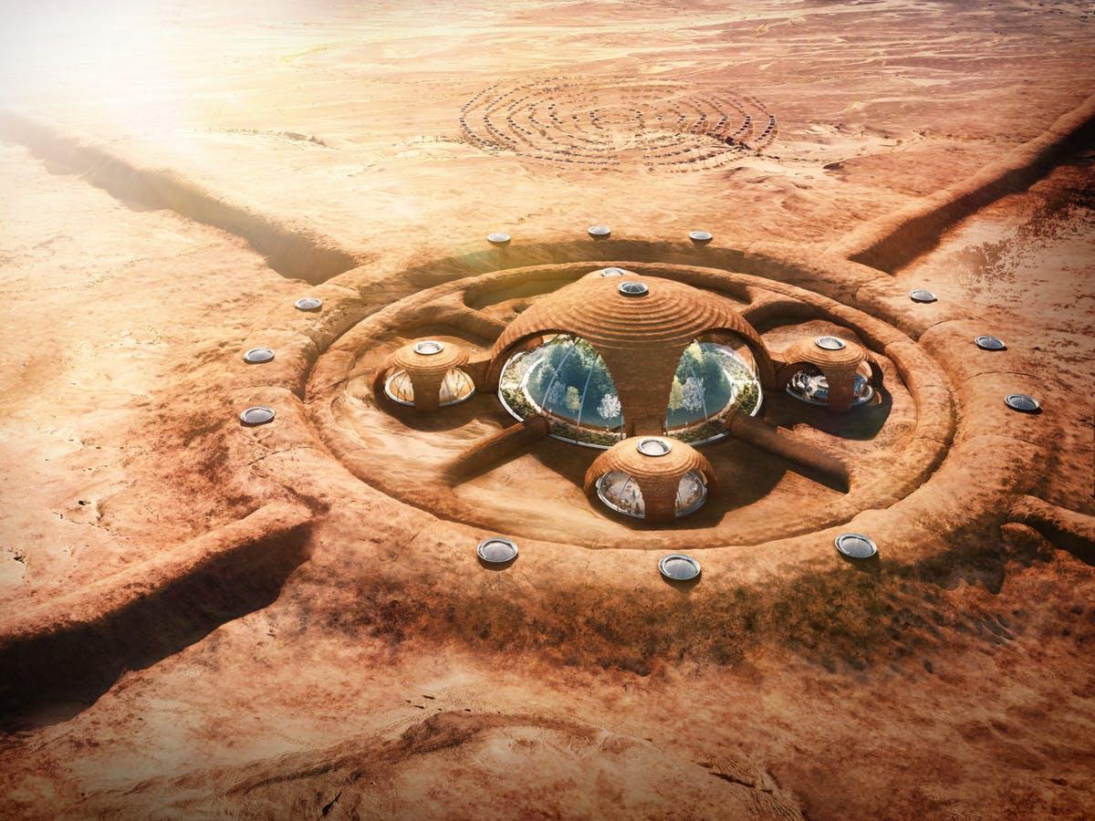 Stanovanje Mars.