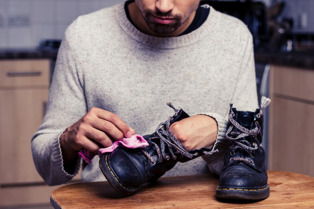 """""""Vlaženje"""" čevljev zelo pomembno."""