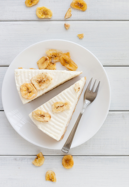 Super bananin cheesecake