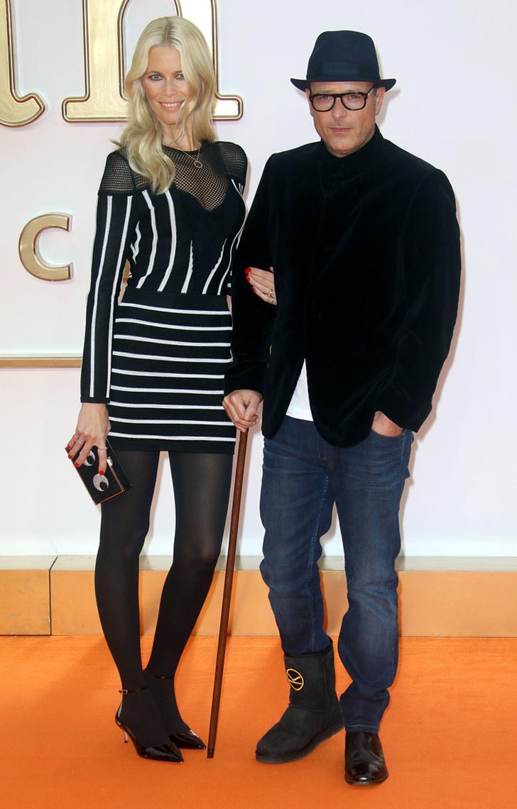 Claudia in filmski producent Matthew Vaughn