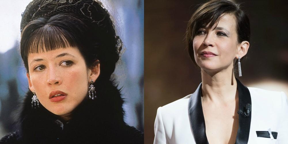 Sophie Marceau v filmu Ana Karenina (1997) in leta 2018, stara 51 let.