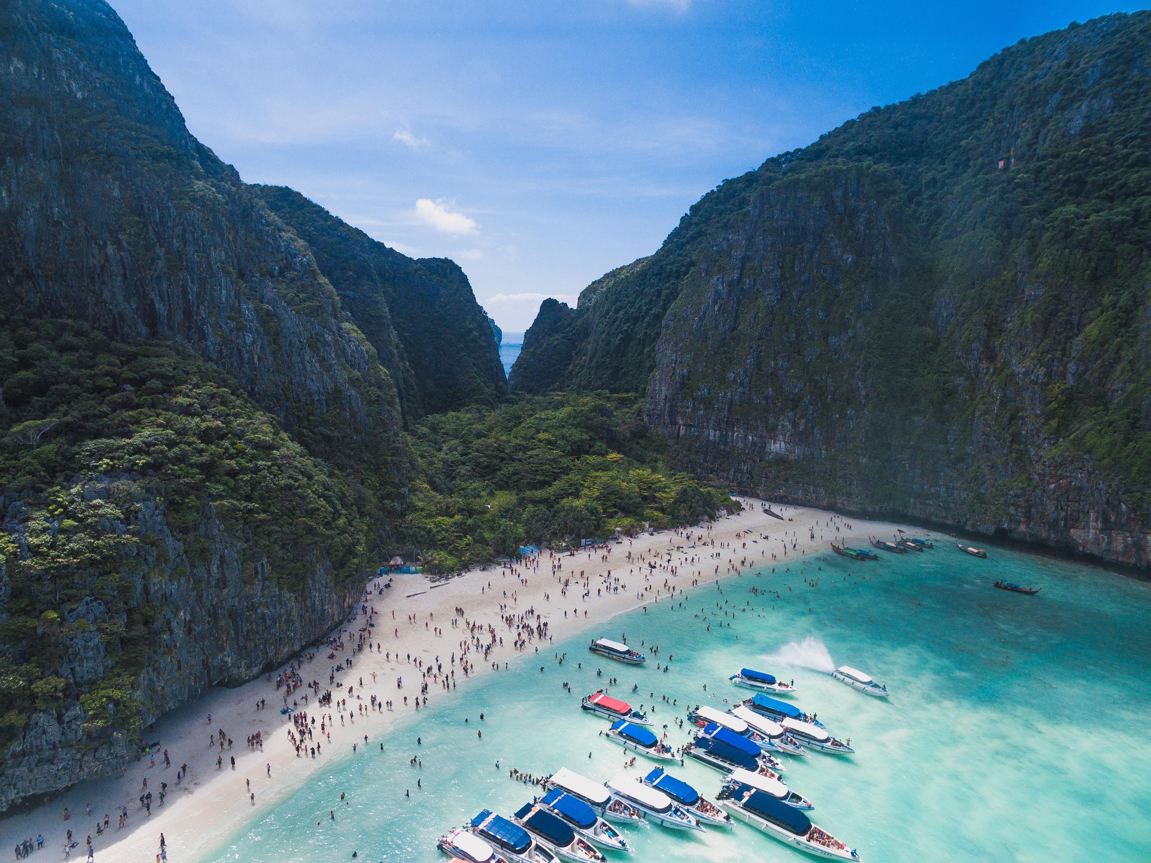 Maya Bay, Tajska