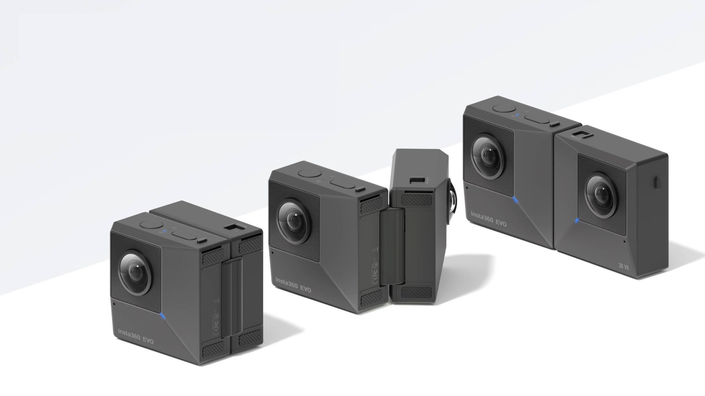 Zložljiva kamera Insta360EVO