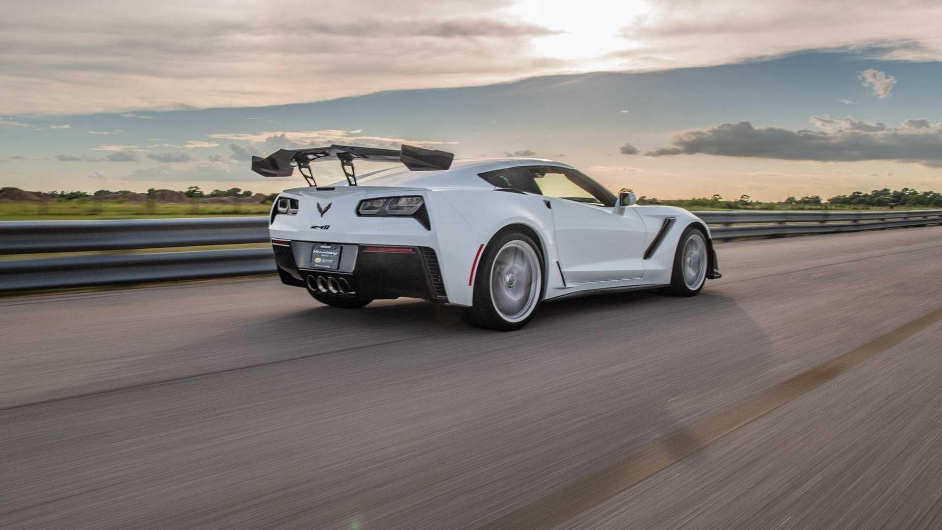 Chevrolet Corvette ZR1 HPE1200 Hennessey: bo 1200 konjev zadosti?!