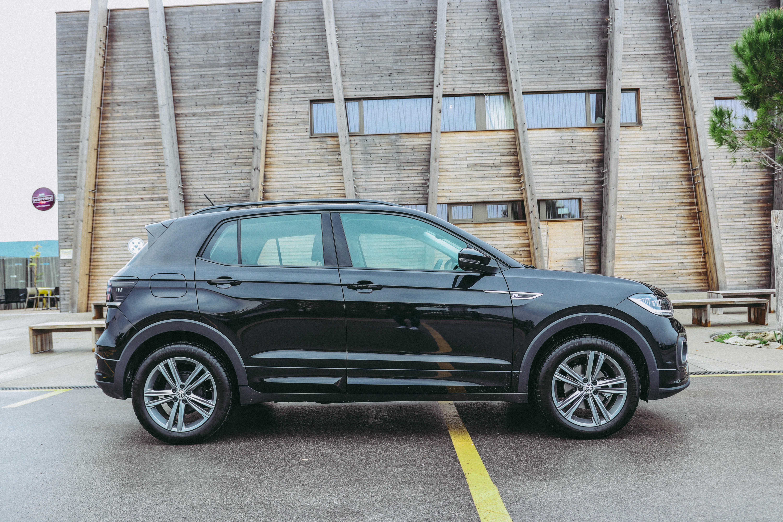 V stranski silhueti je zaznati večje SUV-e skupine Volkswagen.