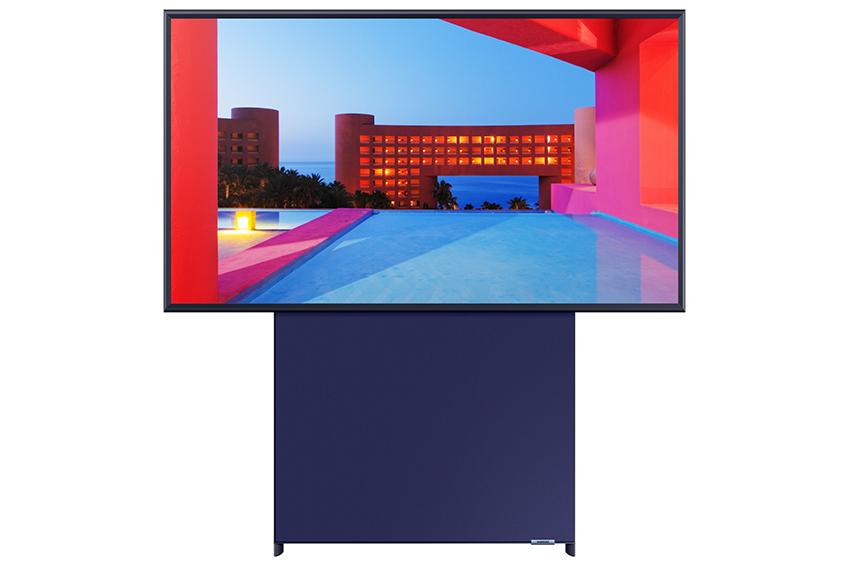 Samsung Sero - vodoravno obrnjen je čisto običajen TV.