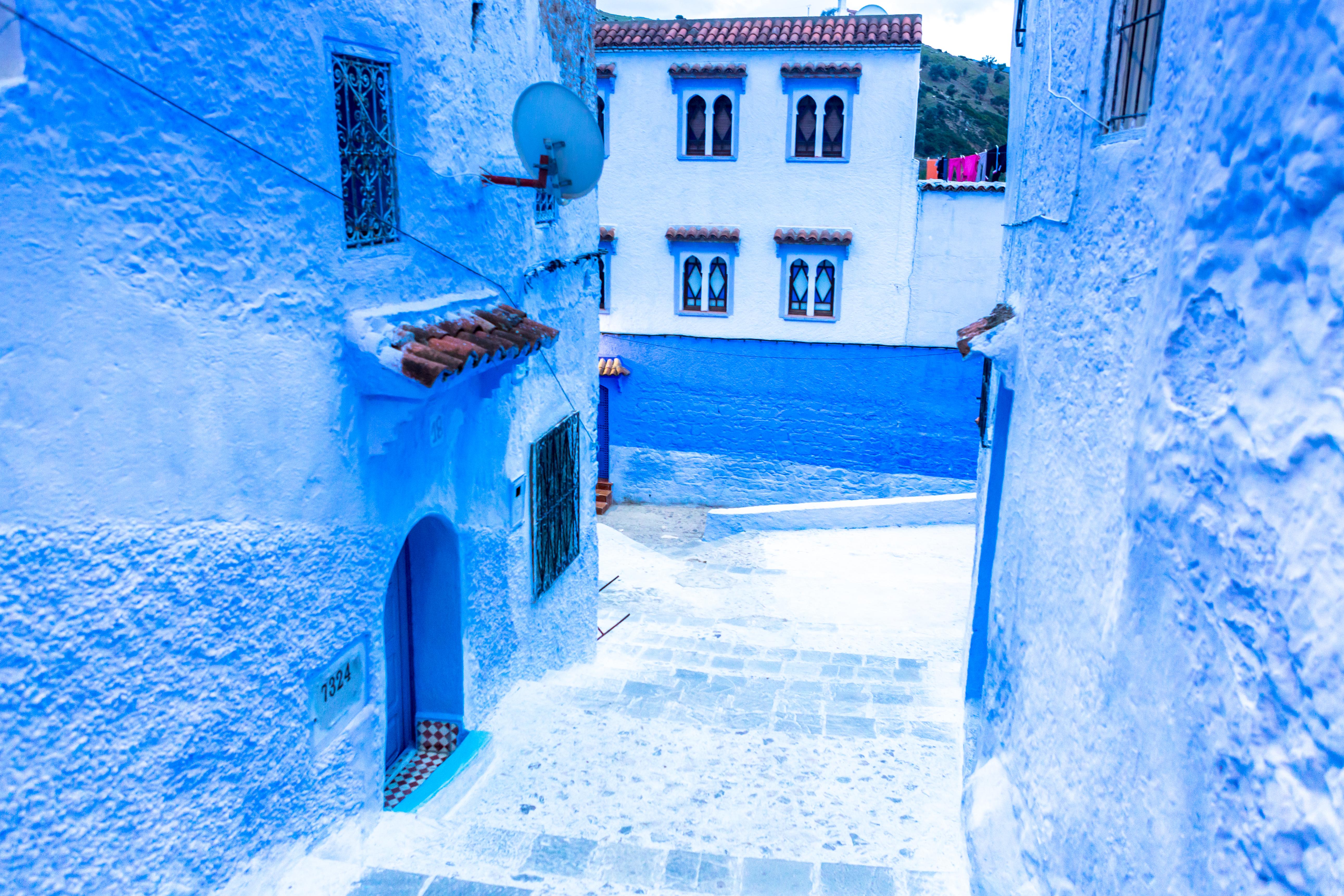 Rue Targui, Chefchouen, Maroko