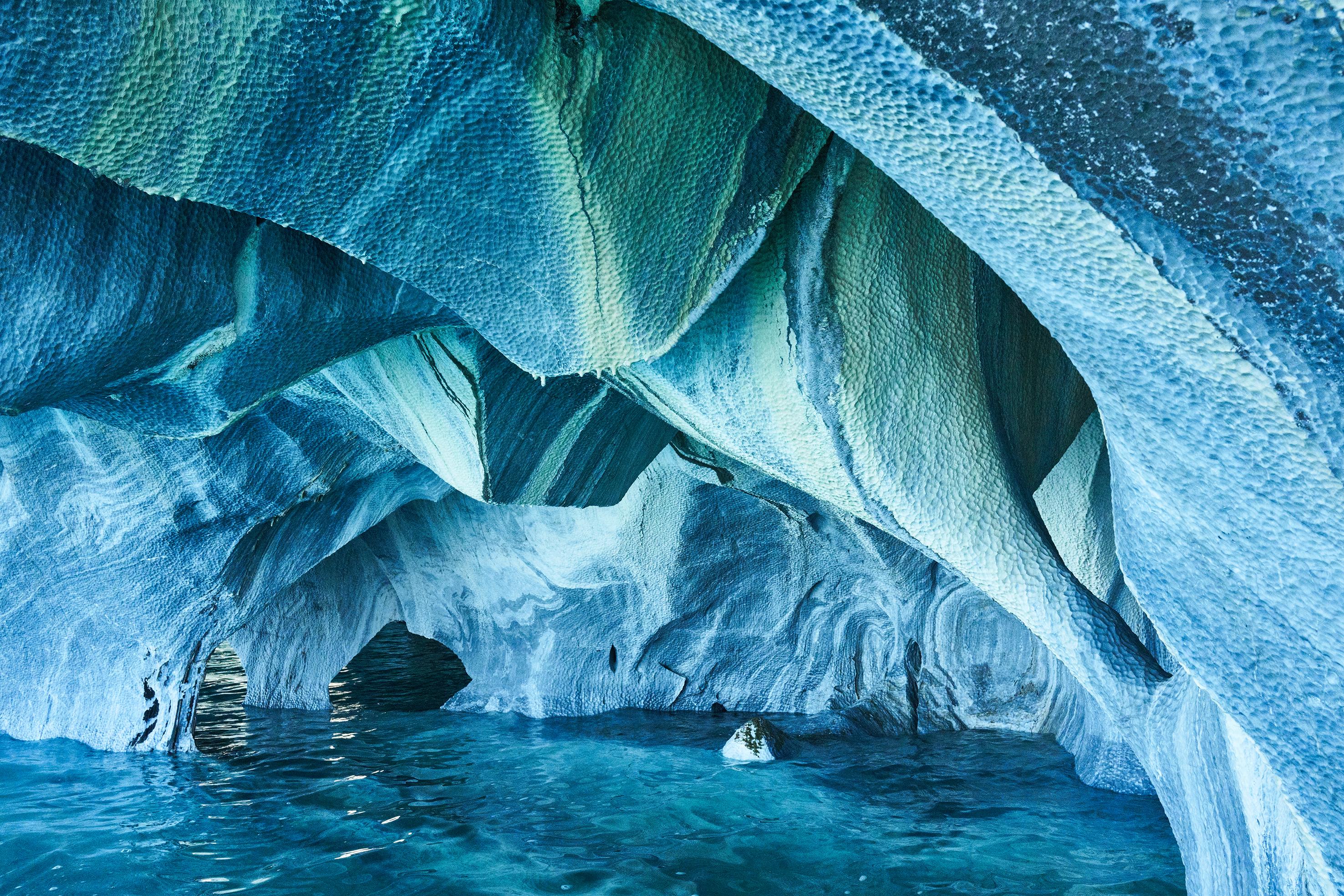 Marmorne jame, Čile