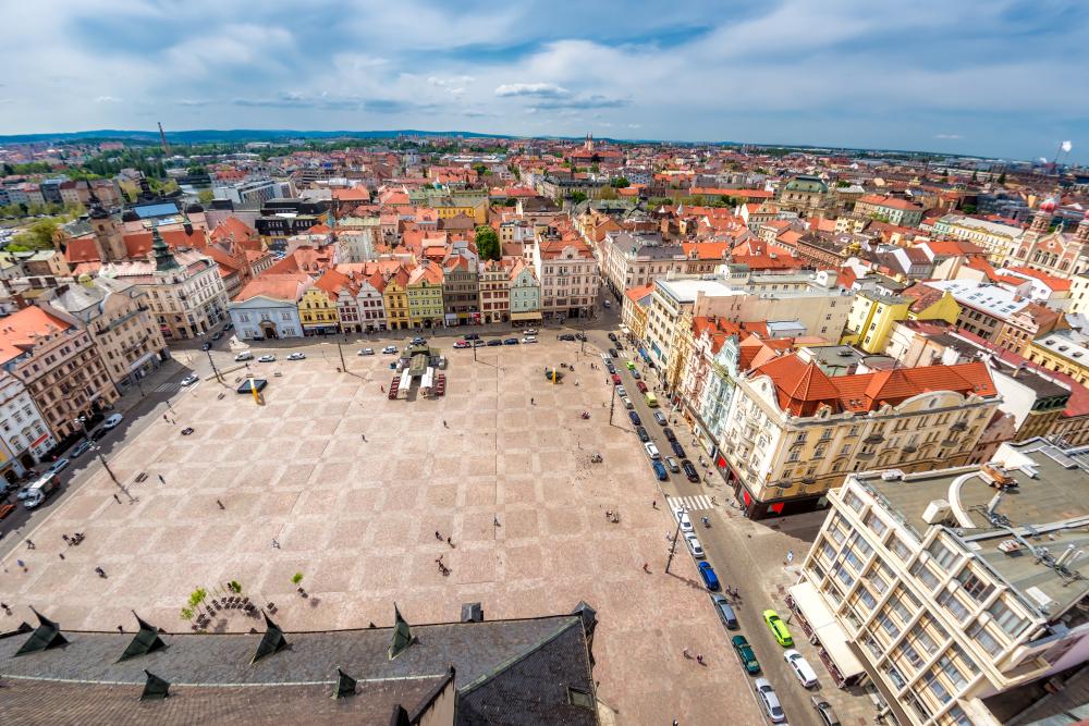 Plzen, Češka
