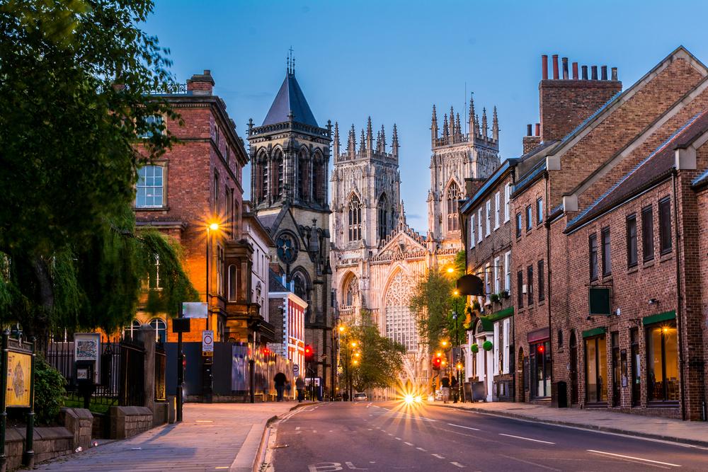 York, Anglija
