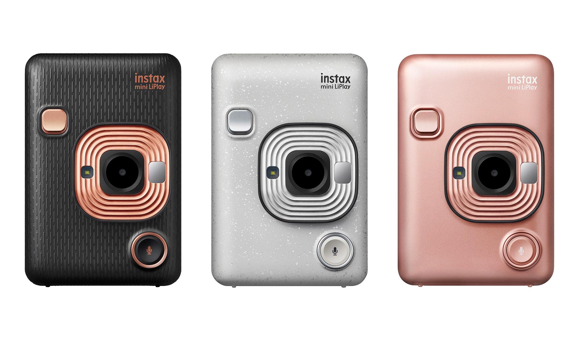 Kupci bodo lahko izbirali med tremi barvnimi različicami kamere Fujifilm Instax Mini LiPlay.