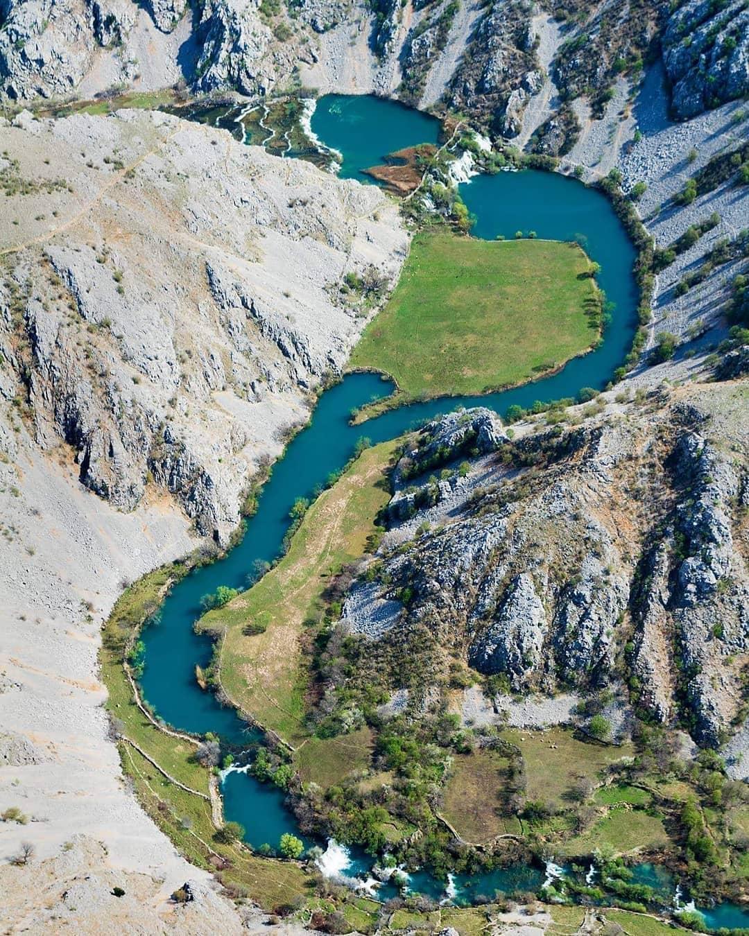 Kanjon reke Krupe (Foto: IG Time Out Croatia / Goran Safarek)