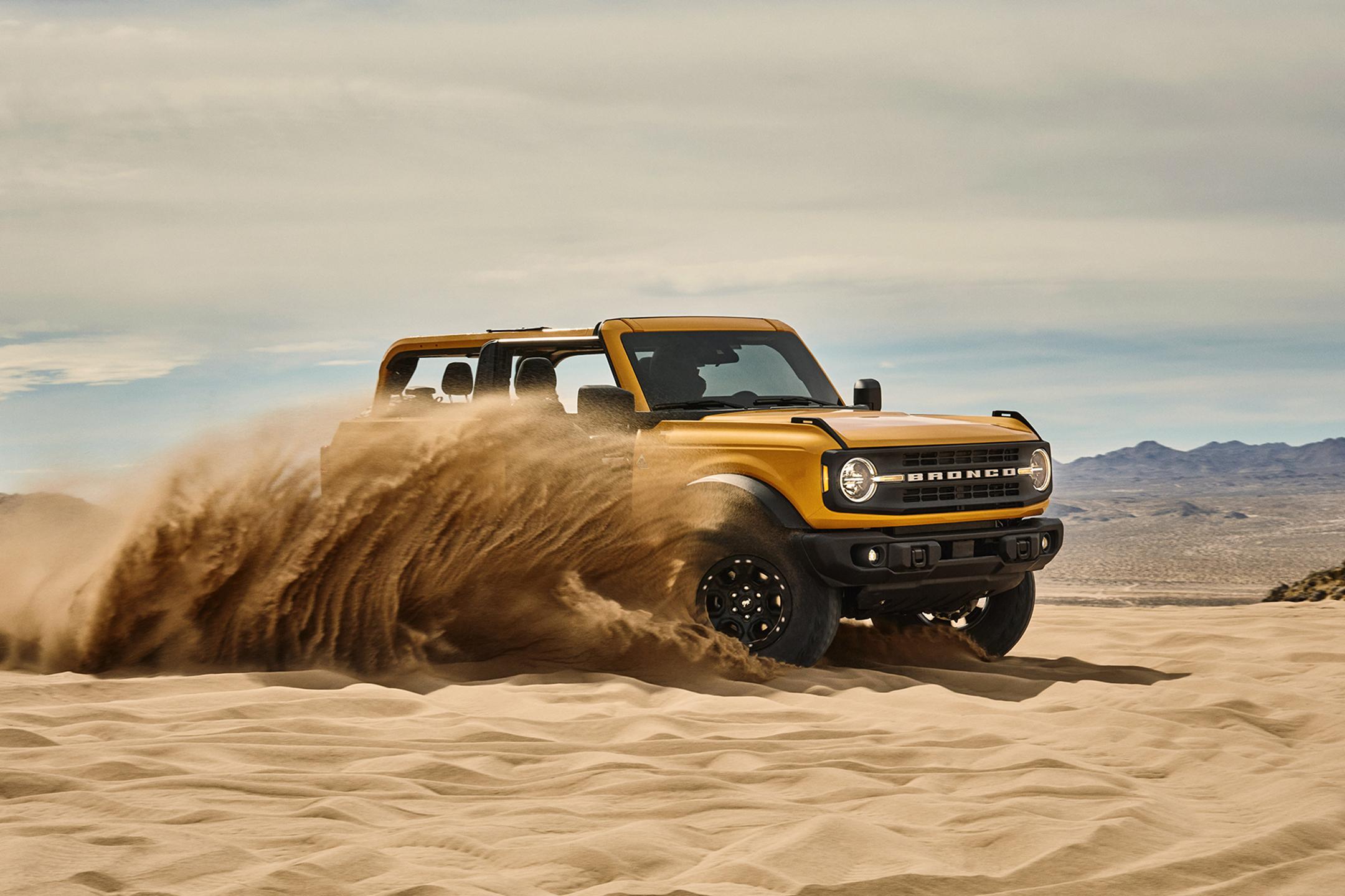 Ford Bronco - naj bi bil kleni terenec - boljši od Jeepa!